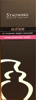 Stauning Whiskey HEATHER, 48.7% vol