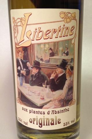 Libertine, D'Absinthe 55%vol.