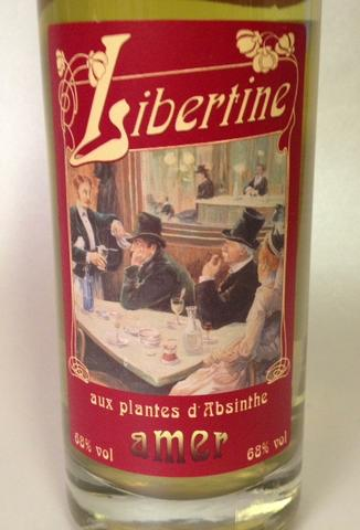 Libertine, D'Absinthe 68%vol.