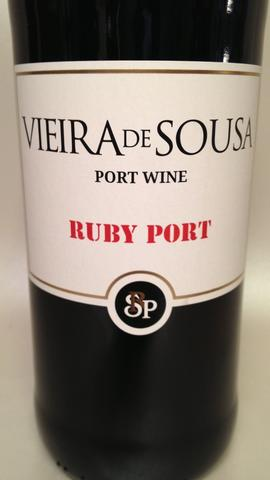 Vieira DE Sousa, Ruby Port.