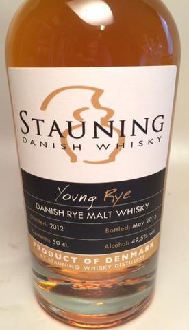 Stauning Young Rye, 49,5% vol.