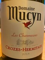 Crozes-Hermitage, Les Charmeuses 2018, Domaine Mucyn, Blanc.